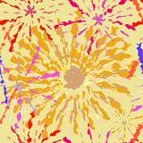 Fireworks Random Pattern Seamless. With Random Position Royalty Free Stock Photo