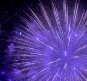 Fireworks at Rapallo Stock Image
