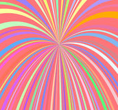 Fireworks rays. Abstract Fireworks Rays Burst Pattern. Vector illustration Royalty Free Stock Photos