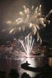 Fireworks Recco Italy Royalty Free Stock Photography