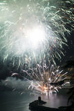 Fireworks Recco Italy Stock Image