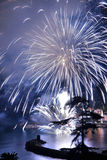 Fireworks Recco Italy Royalty Free Stock Images