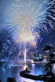 Fireworks Recco Italy Stock Images