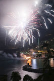 Fireworks Recco Italy Royalty Free Stock Image