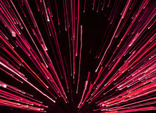Fireworks in red Stock Photography