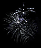 Fireworks in Reykjavik Stock Photography