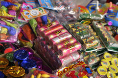 Fireworks for sale Stock Photos
