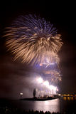 Fireworks Salute Royalty Free Stock Photography