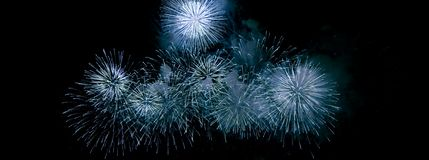 Fireworks, salute. Abstract, explosion. stock photo