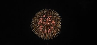 Fireworks, salute. Abstract, explosion. stock image
