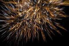 Fireworks salute holiday Royalty Free Stock Image