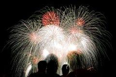 Fireworks San Sebastian contest Stock Photo