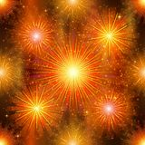 Fireworks, seamless Stock Image