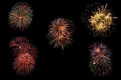 Fireworks Royalty Free Stock Photos