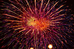 Fireworks Show. Royalty Free Stock Image