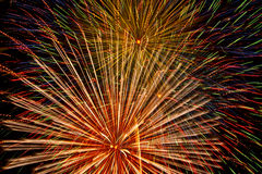 Fireworks Show. Stock Photography