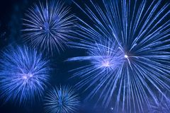 Fireworks show Royalty Free Stock Photography