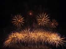 Fireworks show Stock Photography