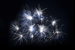Fireworks Show Stock Images