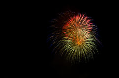 Fireworks Show / Guy Fawkes Night Stock Image