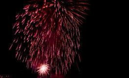 Fireworks Show / Guy Fawkes Night Royalty Free Stock Photography