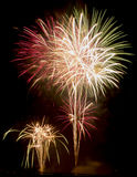 Fireworks Show / Guy Fawkes Night Royalty Free Stock Photos