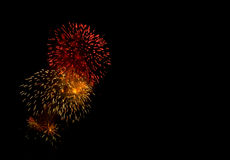 Fireworks Show / Guy Fawkes Night Stock Images