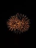 Fireworks Show IX. Fireworks at an amusement park stock images