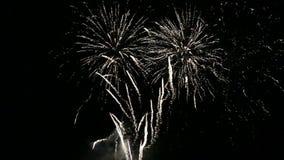Fireworks show movie stock footage