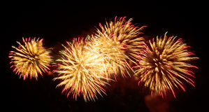 Fireworks - sky Royalty Free Stock Photography