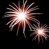 Fireworks in the sky Stock Photos