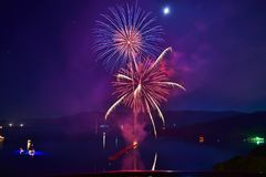 Fireworks, Sky, Event, Atmosphere Of Earth stock photos