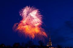 Fireworks, Sky, Event, Atmosphere Of Earth stock photo