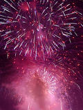 Fireworks in the sky Royalty Free Stock Photography
