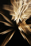 Fireworks with slow shutter speed Stock Image
