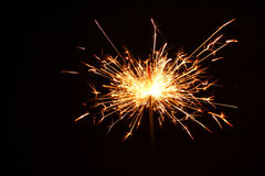 Fireworks Stars and Sparklers Royalty Free Stock Photography