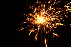 Fireworks Stars and Sparklers Royalty Free Stock Images