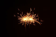 Fireworks Stars and Sparklers Stock Image