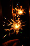 Fireworks Stars and Sparklers Stock Images