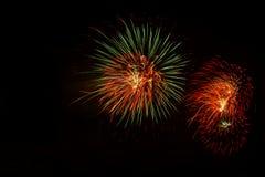 Fireworks Stock Image In Black Background