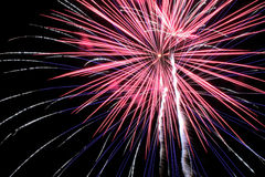 Fireworks. 4th Of July Fireworks 2015 Stock Photos