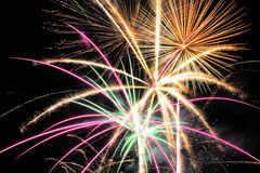 Fireworks. 4th Of July Fireworks 2015 Royalty Free Stock Photos