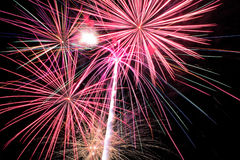 Fireworks. 4th Of July Fireworks 2015 Stock Photography