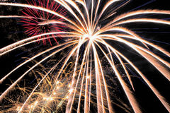 Fireworks. 4th Of July Fireworks 2015 Royalty Free Stock Photography