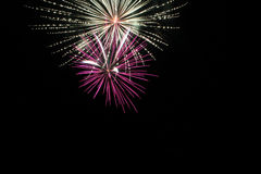 Fireworks. 4th Of July Fireworks 2015 Stock Image