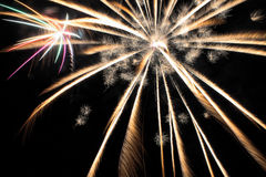 Fireworks. 4th Of July Fireworks 2015 Royalty Free Stock Images