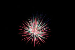 Fireworks. 4th Of July Fireworks 2015 Royalty Free Stock Image