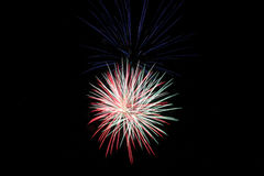 Fireworks. 4th Of July Fireworks 2015 Stock Images