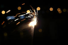Fireworks. Traditional Chinese Festival let off fireworks and firecrackers Royalty Free Stock Image