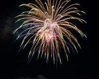 Fireworks. Up in the sky Royalty Free Stock Photography